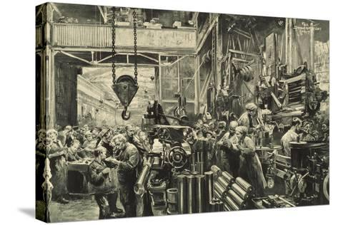 Weapons for the Final Battle-Felix Schwormstadt-Stretched Canvas Print