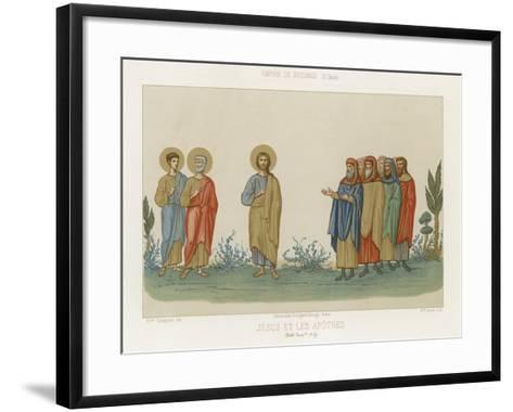 Jesus and the Apostles--Framed Art Print