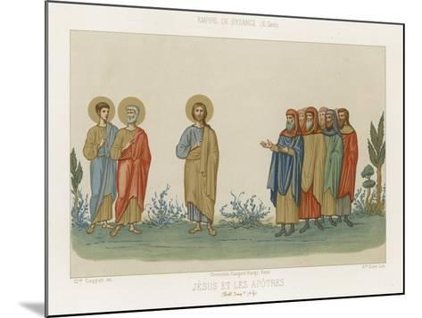 Jesus and the Apostles--Mounted Giclee Print
