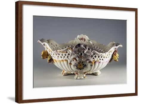Centerpiece with Classic Floral Decorations--Framed Art Print