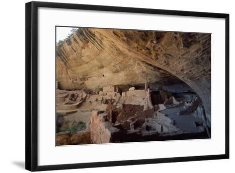Long House, Mesa Verde National Park--Framed Art Print