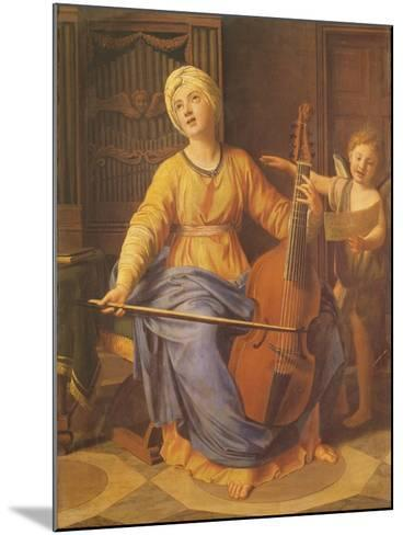St. Cecilia-Nicolas Colombel-Mounted Giclee Print