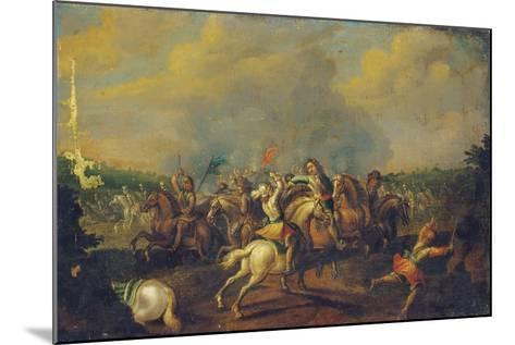 A Cavalry Skirmish-Palamedes Palamedesz-Mounted Giclee Print