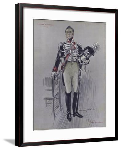 Andre Hall as Robert De Montenoi in L'Epave--Framed Art Print
