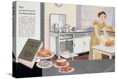 The Magnificent Cookery Book, 1940S--Stretched Canvas Print