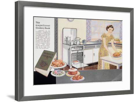 The Magnificent Cookery Book, 1940S--Framed Art Print