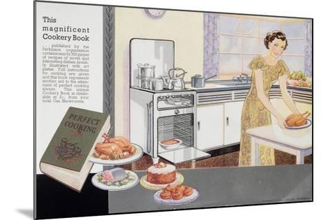 The Magnificent Cookery Book, 1940S--Mounted Giclee Print