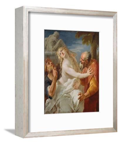 Suzanna and the Elders-Francesco Bernardini-Framed Art Print