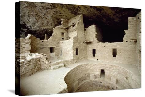 Cliff Palace, Mesa Verde National Park--Stretched Canvas Print