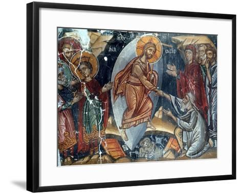 The Anastasis-Philippos Goul-Framed Art Print
