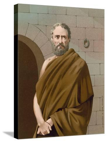 Socrates--Stretched Canvas Print