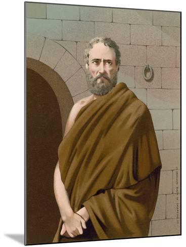 Socrates--Mounted Giclee Print