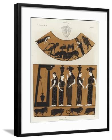 Women Carrying Hydria--Framed Art Print