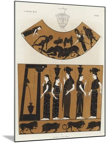 Women Carrying Hydria--Mounted Giclee Print