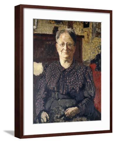 Portrait of Madame Vuillard, C.1905-Edouard Vuillard-Framed Art Print