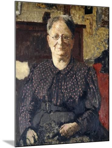 Portrait of Madame Vuillard, C.1905-Edouard Vuillard-Mounted Giclee Print