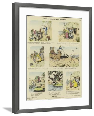 Dwell in the Land and You Shall Be Fed--Framed Art Print