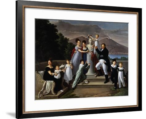 Francis I of Two Sicilies--Framed Art Print