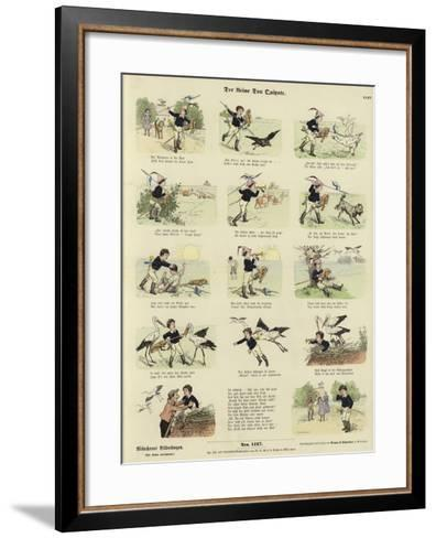 The Little Don Quixote--Framed Art Print