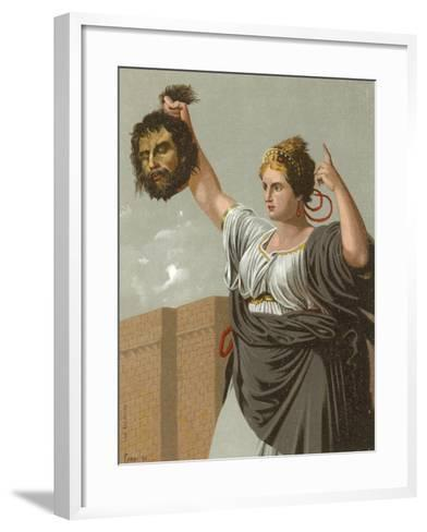 Judith with the Head of Holofernes--Framed Art Print
