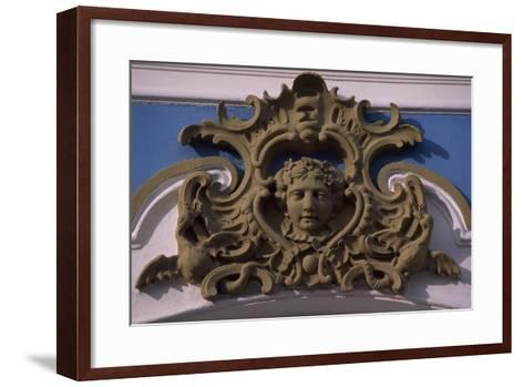 Stucco Decorations at Catherine Palace--Framed Art Print