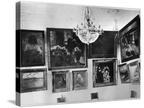 Gallery of Sergei Shchukin--Stretched Canvas Print
