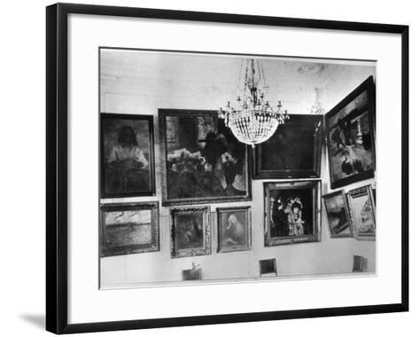 Gallery of Sergei Shchukin--Framed Art Print