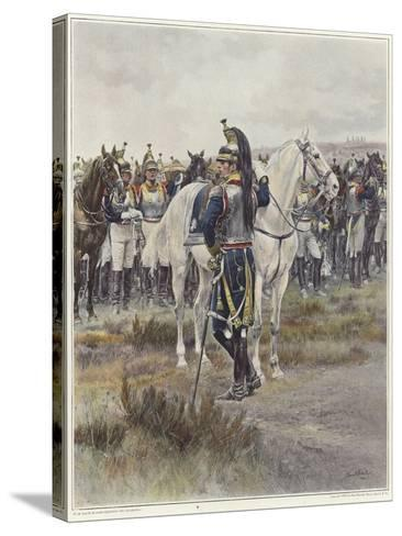 Mounted Cavalry in 1807-Jean-Baptiste Edouard Detaille-Stretched Canvas Print