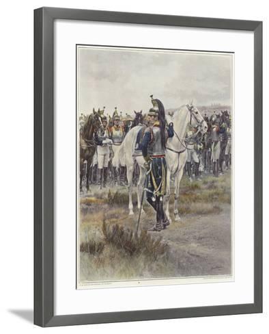 Mounted Cavalry in 1807-Jean-Baptiste Edouard Detaille-Framed Art Print