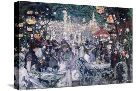 Tivoli Gardens, Copenhagen-James Kay-Stretched Canvas Print