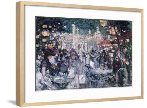 Tivoli Gardens, Copenhagen-James Kay-Framed Art Print