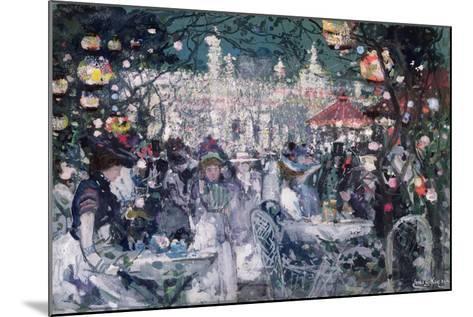 Tivoli Gardens, Copenhagen-James Kay-Mounted Giclee Print