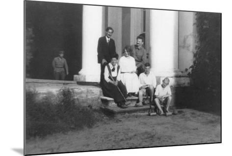 Leon Trotsky--Mounted Photographic Print