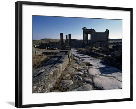 Ruins of Ancient Roman City--Framed Art Print