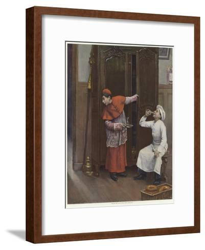 Two Young Boys Wearing Costumes-Paul Charles Chocarne-moreau-Framed Art Print