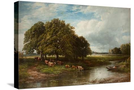 Summertime-Edmund Morison Wimperis-Stretched Canvas Print