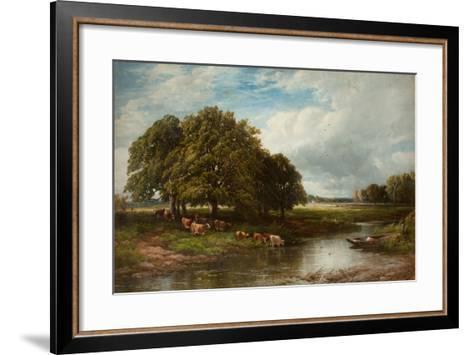 Summertime-Edmund Morison Wimperis-Framed Art Print