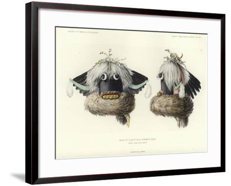 Mask of a Sayathlia--Framed Art Print