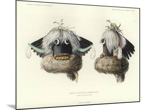 Mask of a Sayathlia--Mounted Giclee Print