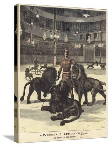 Neron at the Hippodrome--Stretched Canvas Print