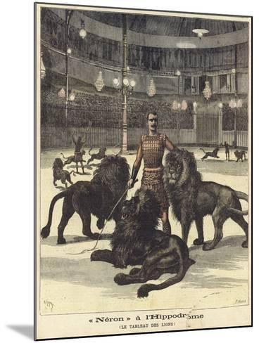 Neron at the Hippodrome--Mounted Giclee Print