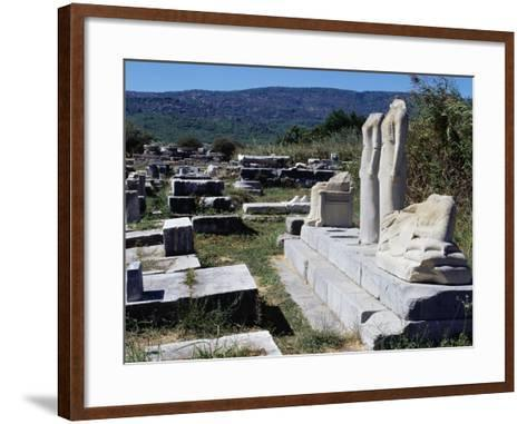 Temple of Hera or Heraion--Framed Art Print