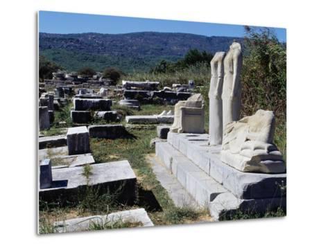 Temple of Hera or Heraion--Metal Print