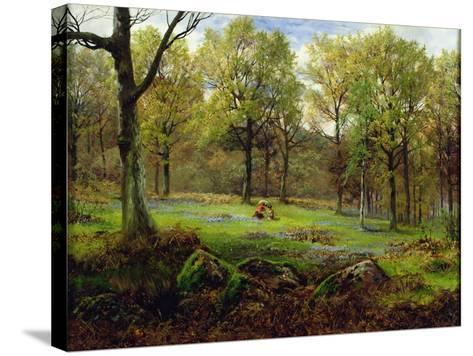 In the Woods-Henry Crossland-Stretched Canvas Print