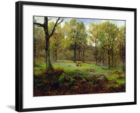 In the Woods-Henry Crossland-Framed Art Print