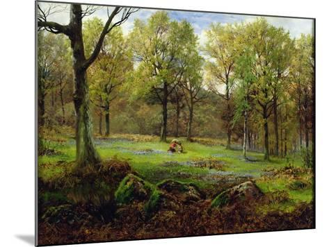 In the Woods-Henry Crossland-Mounted Giclee Print