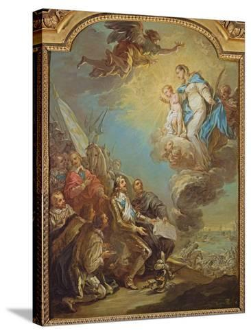 Study for Louis XIII-Carle van Loo-Stretched Canvas Print