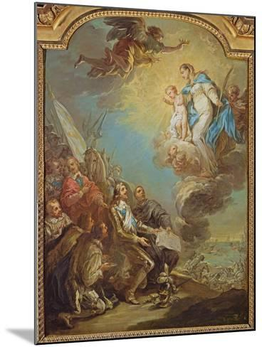 Study for Louis XIII-Carle van Loo-Mounted Giclee Print