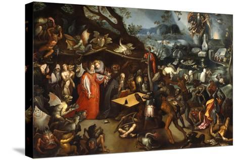 Meditation of St Anthony-Jacob Van Swanenburg-Stretched Canvas Print