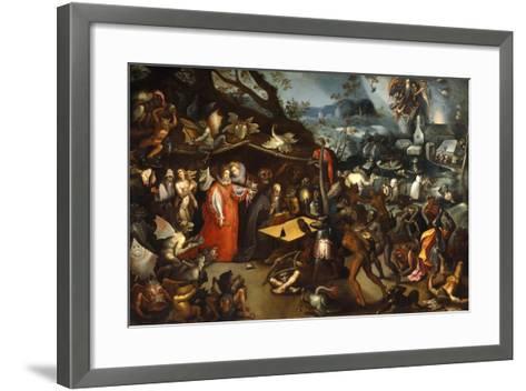 Meditation of St Anthony-Jacob Van Swanenburg-Framed Art Print